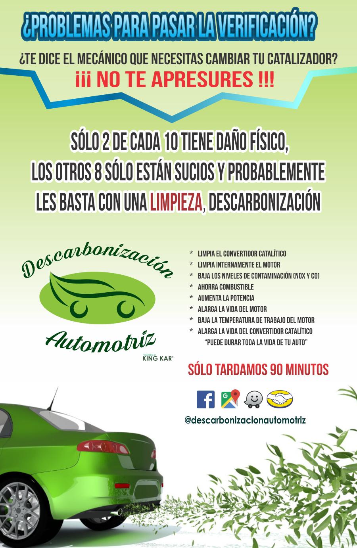 folleto a #catalizador